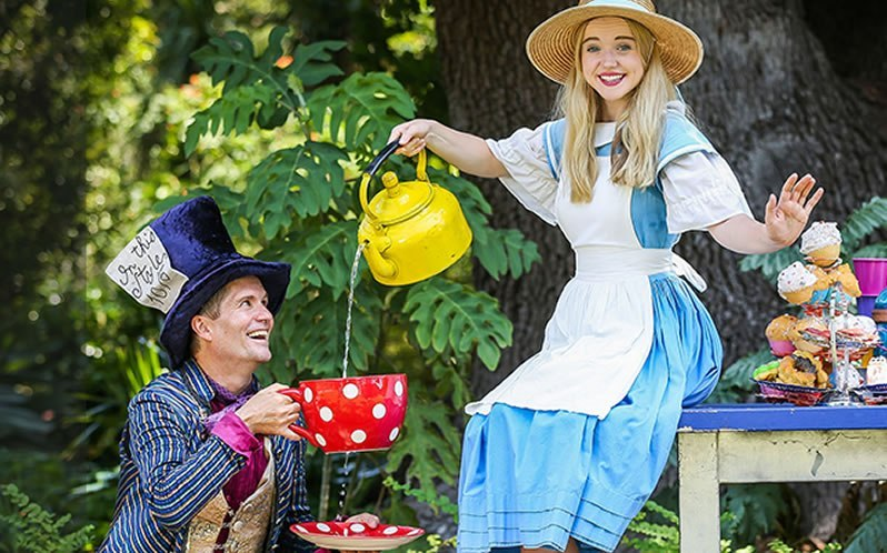 Kew Gardens Brentford Hull City Alice in Wonderland Open-air Theatre