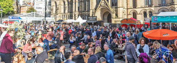 Manchester Food & Drink Festival, Manchester United, Arsenal, Manchester City, Wolves