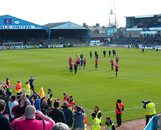 Carlisle United Brunton Park Oldham Athletic