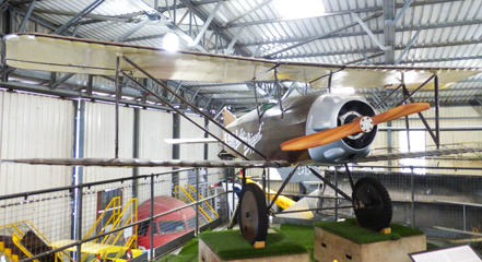 South Yorkshire Aircraft Museum Doncaster aviation history bleriot biplanes jets helicopters restoration English Electric Lightning