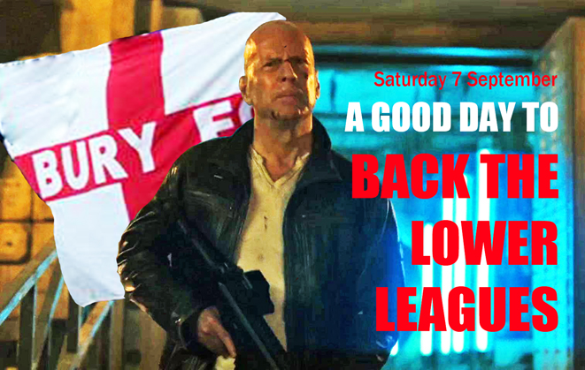 Bruce Willis, Bury, Support the Lower Leagues