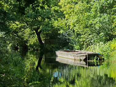 Basingstoke Canal, River Wey Navigation, Kitty Canal Cruises