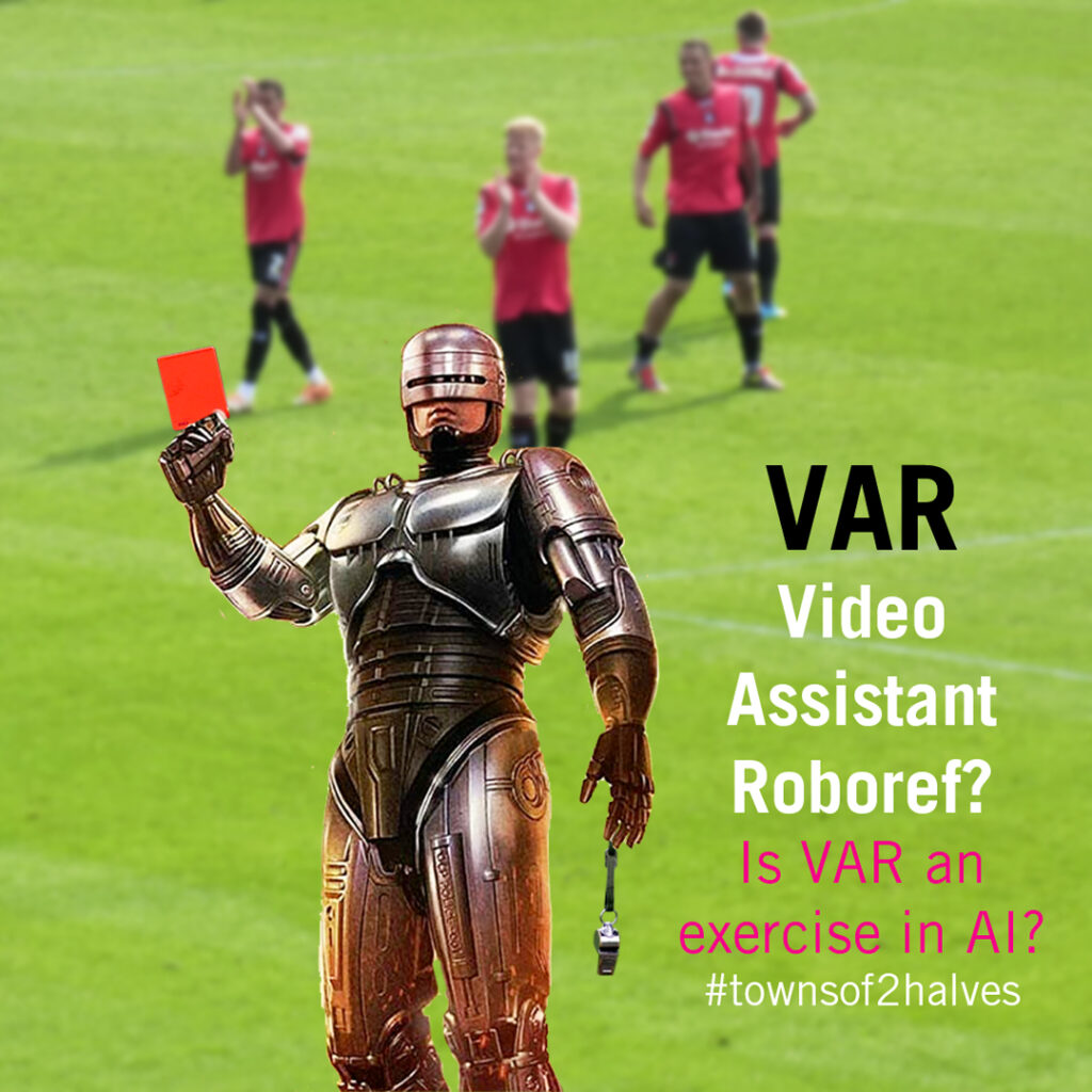 VAR, Video Assistant Referee, Robocop, montage