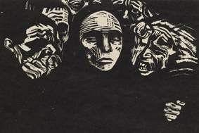 German Revolution Expressionism, Lady Lever Gallery, print-making, Wirral
