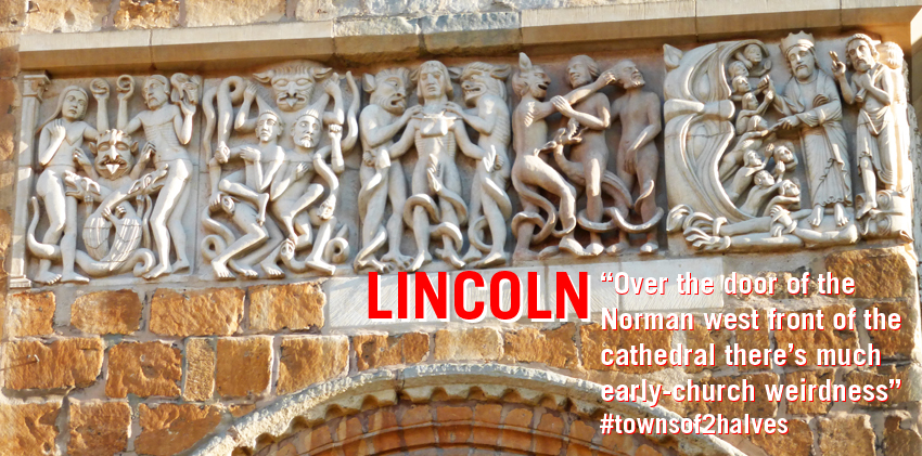Lincoln, Lincoln City, Lincoln Cathedral, torments of hell, early church