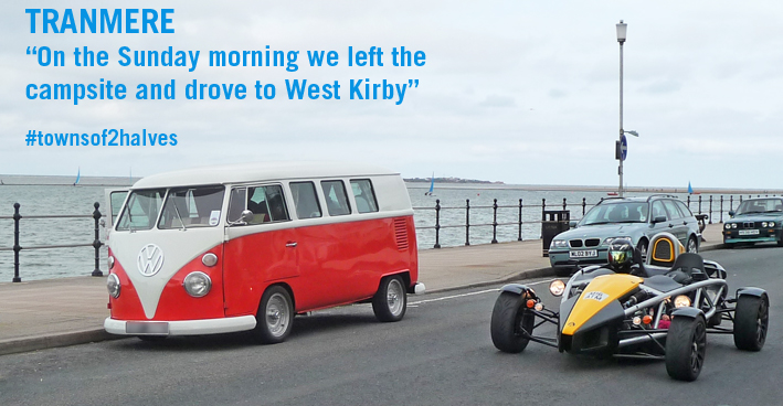 Tranmere Rovers, West Kirby, Wirral, VW Campervan, sunday breakfast