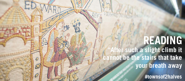Reading, Reading Museum, Bayeux Tapestry replica