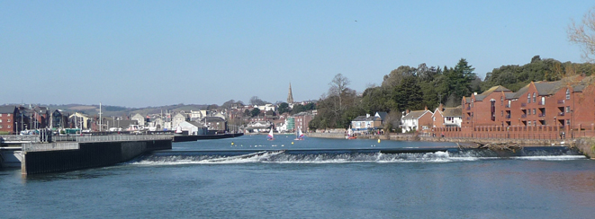 Exeter, River Exe, Quayside