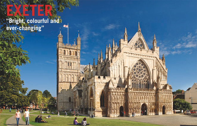 Exeter, Exeter Cathedral, West Front